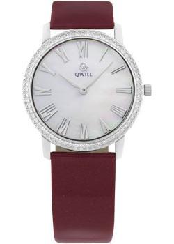 Российские наручные  женские часы Qwill 6050.05.14.9.31A. Коллекция Classic