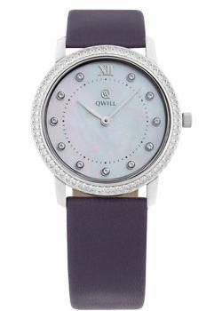 Российские наручные  женские часы Qwill 6050.05.14.9.36A. Коллекция Classic