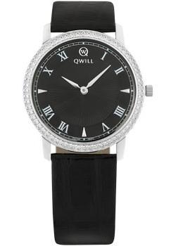 Российские наручные  женские часы Qwill 6050.05.14.9.51A. Коллекция Classic