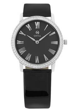 Российские наручные  женские часы Qwill 6050.05.14.9.51C. Коллекция Classic