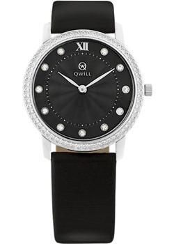 Российские наручные  женские часы Qwill 6050.05.14.9.56A. Коллекция Classic