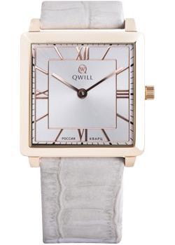 Российские наручные  женские часы Qwill 6051.01.01.1.21A. Коллекция Classic