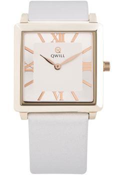 Российские наручные  женские часы Qwill 6051.01.01.1.23A. Коллекция Classic