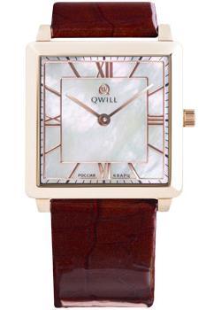 Российские наручные  женские часы Qwill 6051.01.01.1.31A. Коллекция Classic