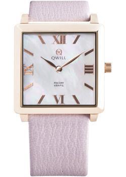 Российские наручные  женские часы Qwill 6051.01.01.1.33A. Коллекция Classic