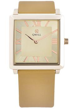 Российские наручные  женские часы Qwill 6051.01.01.1.43A. Коллекция Classic