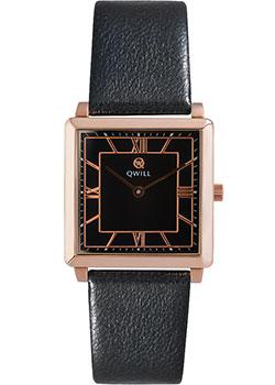 Российские наручные  женские часы Qwill 6051.01.01.1.51C. Коллекция Classic