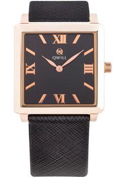 Российские наручные  женские часы Qwill 6051.01.01.1.53A. Коллекция Classic
