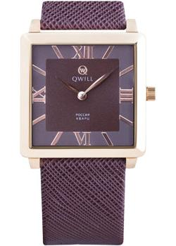Российские наручные  женские часы Qwill 6051.01.01.1.63A. Коллекция Classic