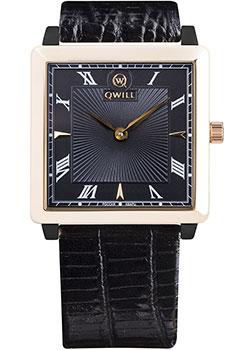 Российские наручные  женские часы Qwill 6051.01.02.1.51A. Коллекция Classic