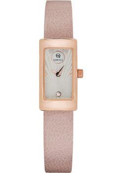 Российские наручные  женские часы Qwill 6052.00.00.1.27A. Коллекция Classic