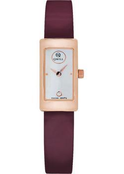 Российские наручные  женские часы Qwill 6052.00.00.1.37A. Коллекция Classic