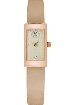 Российские наручные  женские часы Qwill 6052.00.00.1.47A. Коллекция Classic