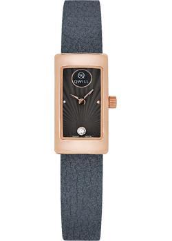 Российские наручные  женские часы Qwill 6052.00.00.1.57A. Коллекция Classic