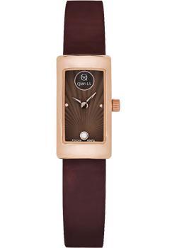 Российские наручные  женские часы Qwill 6052.00.00.1.67A. Коллекция Classic