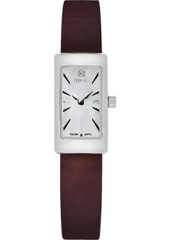 Российские наручные  женские часы Qwill 6052.00.00.9.15A. Коллекция Classic