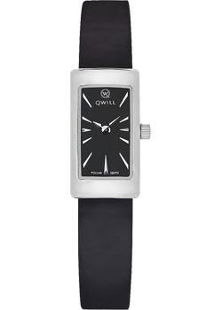 Российские наручные  женские часы Qwill 6052.00.00.9.55A. Коллекция Classic