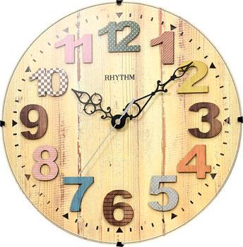 Настенные часы  Rhythm CMG117NR06. Коллекция Настенные часы