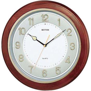 Настенные часы Rhythm CMG266BR06. Коллекция Century.