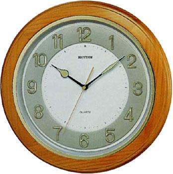 Настенные часы Rhythm CMG266BR07. Коллекция Century.