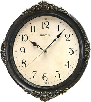 Настенные часы Rhythm CMG433NR06. Коллекция Century.