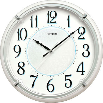 Настенные часы  Rhythm CMG526NR03. Коллекция Настенные часы