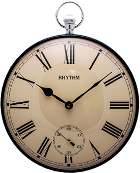 Настенные часы  Rhythm CMG772NR02. Коллекция Настенные часы