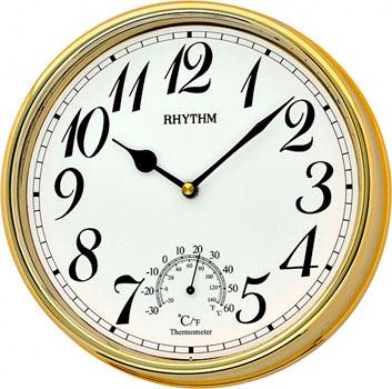 Настенные часы  Rhythm CMG776NR18. Коллекция Настенные часы