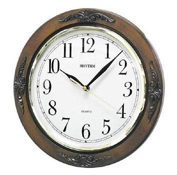 Настенные часы Rhythm CMG938NR06. Коллекция Century.