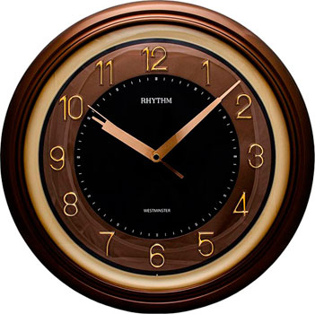 Настенные часы  Rhythm CMH802NR06. Коллекция Настенные часы