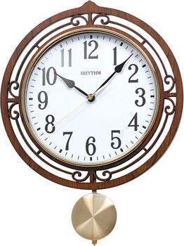 Настенные часы  Rhythm CMP542NR06. Коллекция Настенные часы