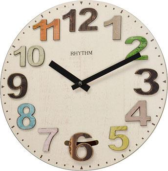Настенные часы  Rhythm CMP547NR06. Коллекция Настенные часы