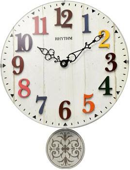 Настенные часы  Rhythm CMP549NR03. Коллекция Настенные часы