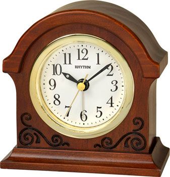 Настольные часы  Rhythm CRE956NR06. Коллекция Настольные часы