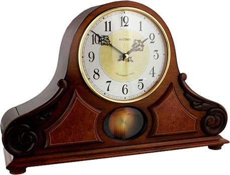 Настольные часы Rhythm CRJ742BR06. Коллекция Настольные часы