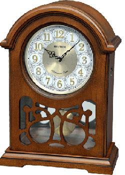 Настольные часы Rhythm CRJ754NR06. Коллекция Настольные часы.