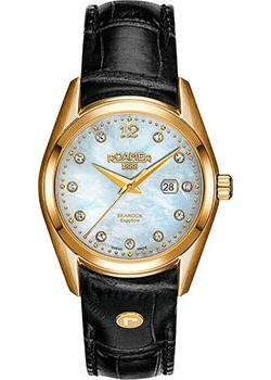 Швейцарские наручные  женские часы Roamer 203.844.48.19.02. Коллекция Searock