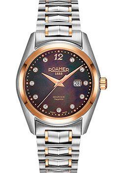 Швейцарские наручные  женские часы Roamer 203.844.49.59.20. Коллекци Searock
