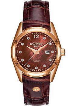 Швейцарские наручные  женские часы Roamer 203.844.49.69.02. Коллекция Searock