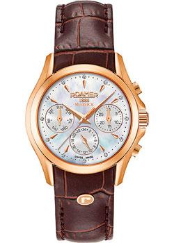 Швейцарские наручные  женские часы Roamer 203.901.49.10.02. Коллекция Searock