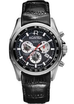Швейцарские наручные  мужские часы Roamer 220.837.41.55.02. Коллекци Rockshell Chrono