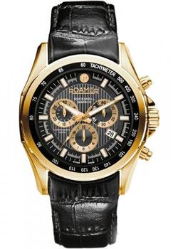 Швейцарские наручные  мужские часы Roamer 220.837.48.55.02. Коллекция Rockshell Chrono.