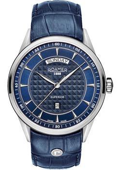 Швейцарские наручные мужские часы Roamer 508.293.41.45.05. Коллекция Superior