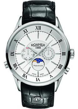 Швейцарские наручные  мужские часы Roamer 508.821.41.13.05. Коллекци Superior