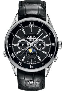 Швейцарские наручные  мужские часы Roamer 508.821.41.53.05. Коллекци Superior