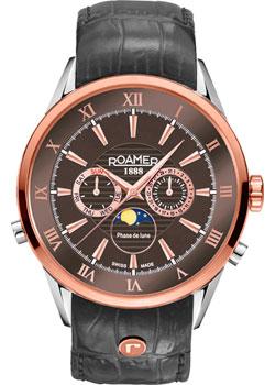 Швейцарские наручные мужские часы Roamer 508.821.47.53.05. Коллекция Superior фото