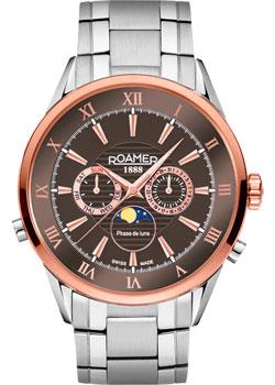 Швейцарские наручные  мужские часы Roamer 508.821.47.53.50. Коллекция Superior.