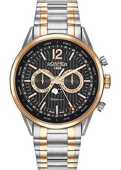 Швейцарские наручные  мужские часы Roamer 508.822.49.54.50. Коллекци Superior