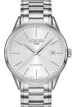 Швейцарские наручные  мужские часы Roamer 508.833.41.15.50. Коллекци Superior