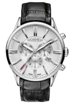 Швейцарские наручные  мужские часы Roamer 508.837.41.15.05. Коллекция Superior.